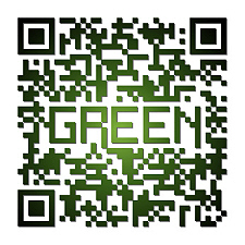 Barcodes should be black white and…green