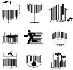 Fun, cool art barcodes