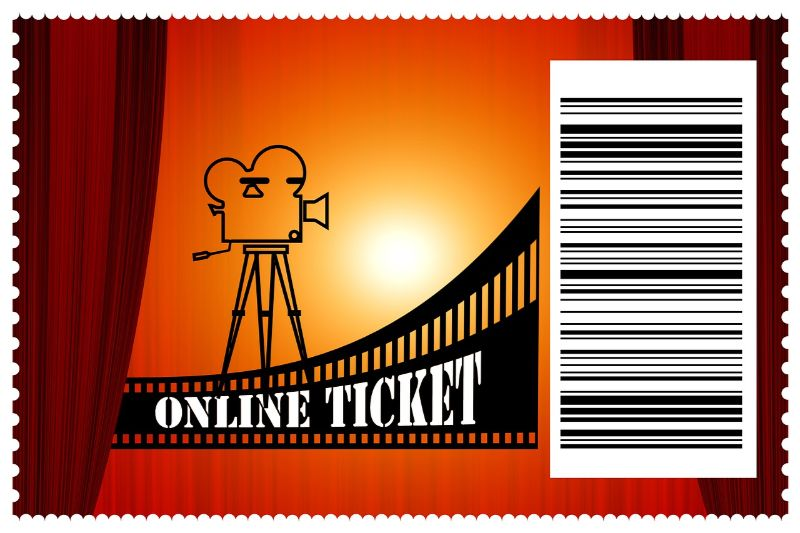 cinema ticket - barcodes